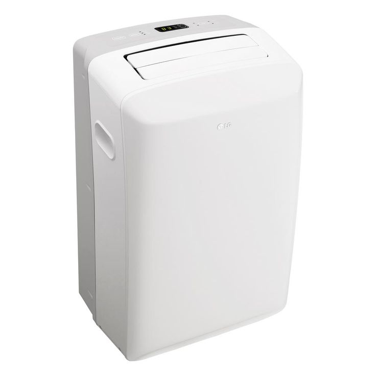 LG Electronics 8,000 BTU Portable Air Conditioner and Dehumidifier Function with LCD Remote