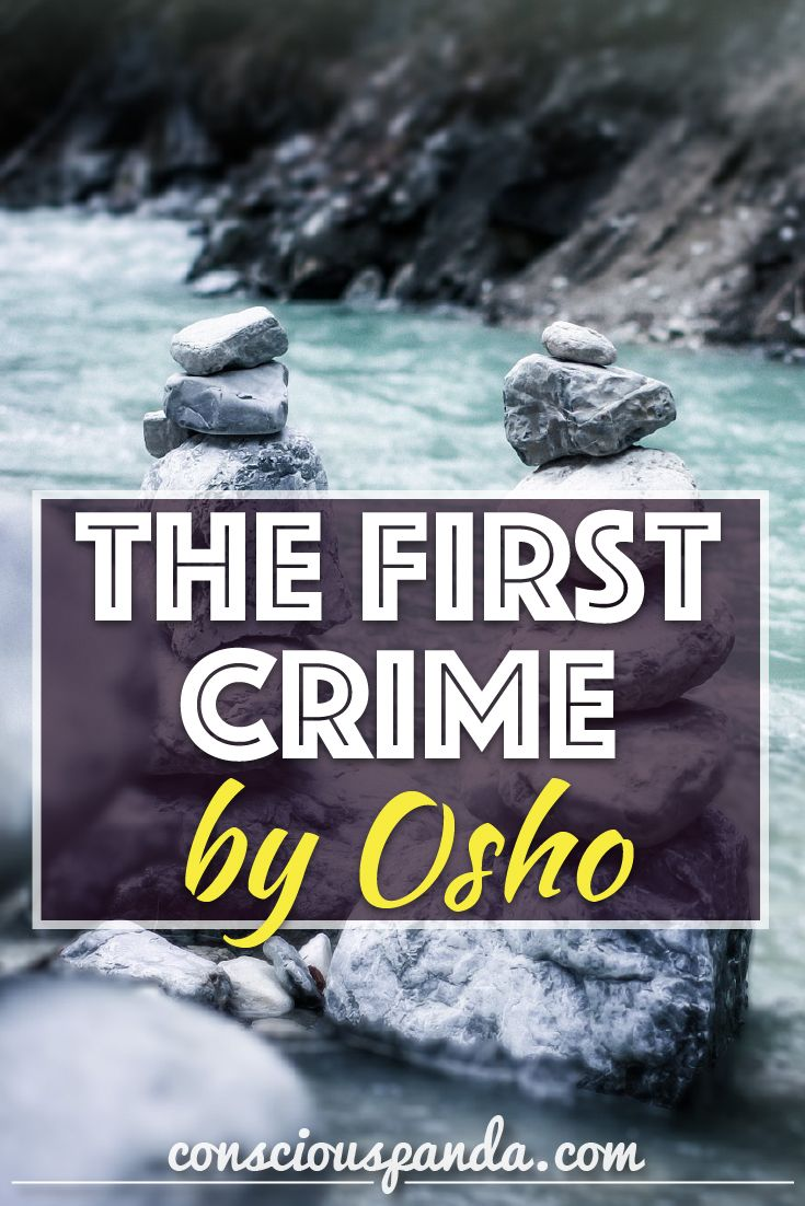 The First Crime by Osho