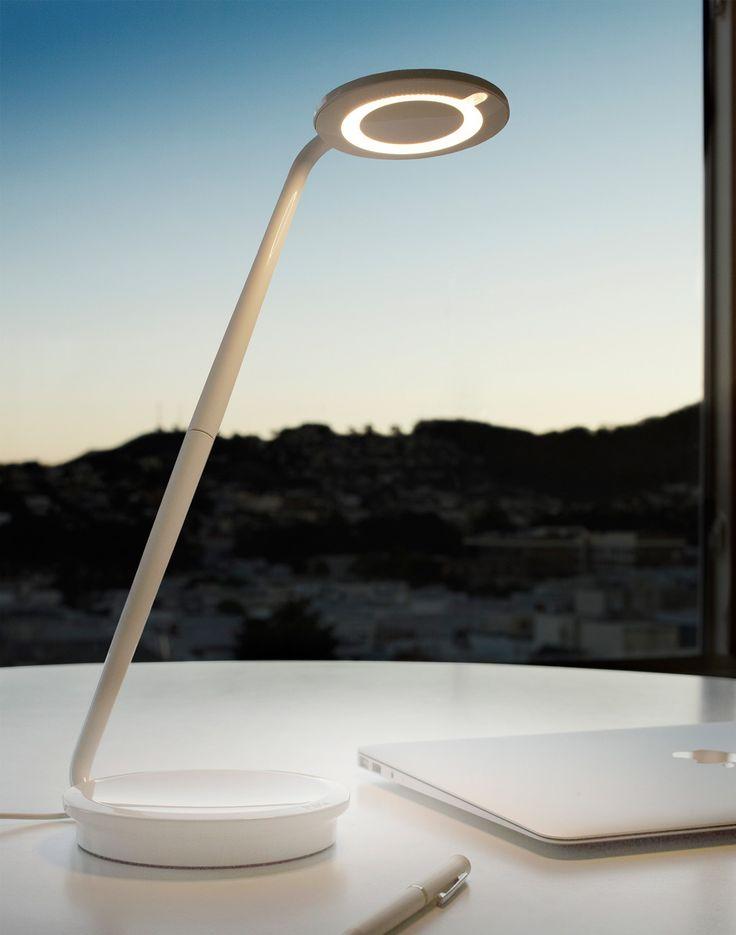 LightKulture.com   Pixo   LED Table Lamp W/ Optical Dimmer USB Charger |