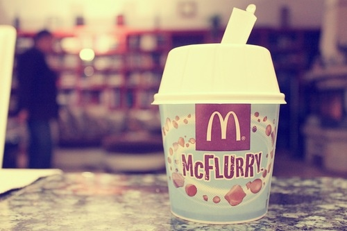 Mcflurry! ♥ Gaaah love it!