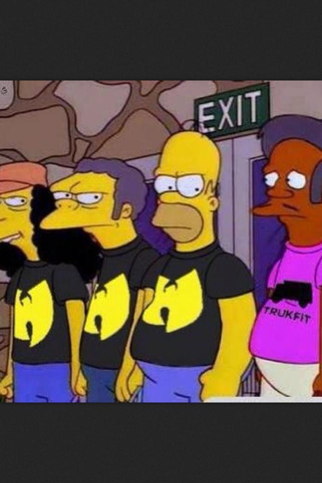 #WuTang #Simpsons #HomerSimpson