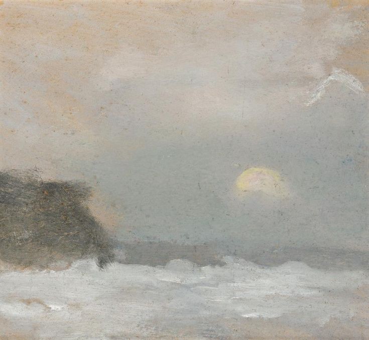 Moonrise, Clarice Majoribanks Beckett (Australia, 21 March 1887 – 7 July 1935)