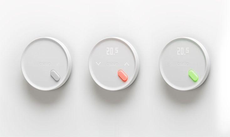 Qivivo smart thermostat designboom