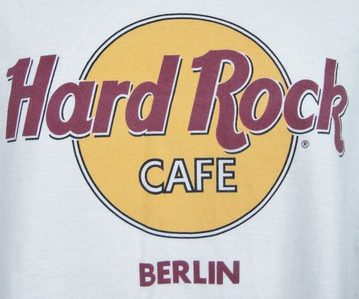 hard rock cafe berlin t shirt mens xl germany classic logo. Black Bedroom Furniture Sets. Home Design Ideas
