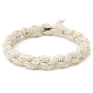 How To Hemp Bracelet Patterns Natural Chain Necklace Clever Crafts Bracelets Jewelry