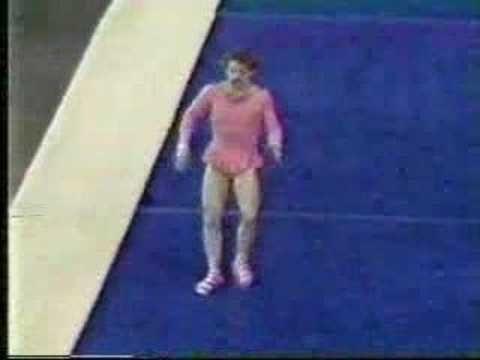 1980 gymnastics comedy Paul Hunt.  My gymnastic and gymnastrada girls have to see