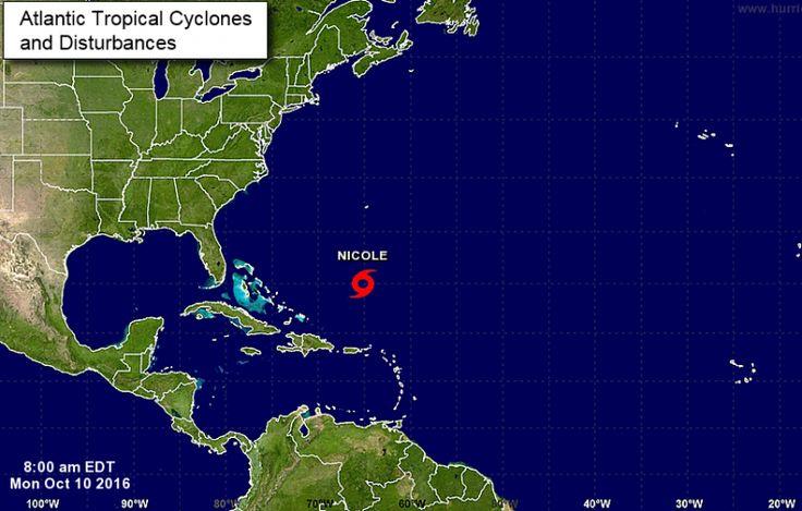 ALARMA! Nicole recobra fuerza y puede convertirse hoy en huracán