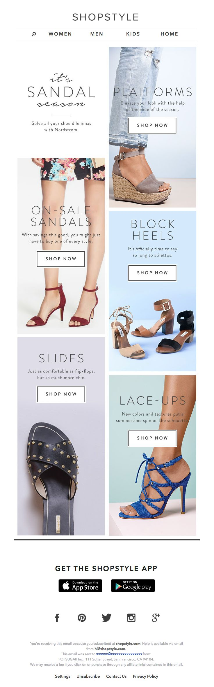 @ShopStyle sent this email with the subject line: The 5 Need-Now Nordstrom…