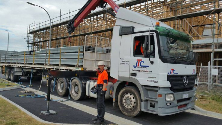 For those jobs where you need a seriously tough workhorse to move a load, call JTC Transport for Hiab tray truck hire in Melbourne at competitive prices. #traytruckhire