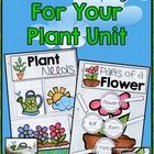 Do you use interactive notebooks in your classroom? I do and I love them!  I created these fun pages to go with our plants unit.  The first page is...