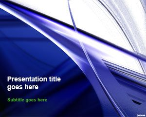 FREE Blue Art PowerPoint Template with eye-catching PowerPoint template backgrounds #PowerPoint #templates