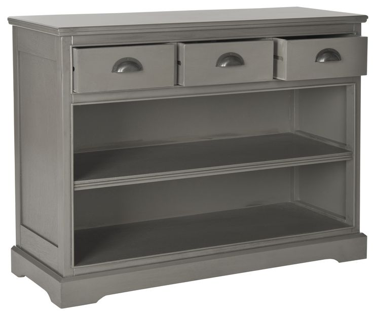 Prudence Bookshelf Storage Unit Grey
