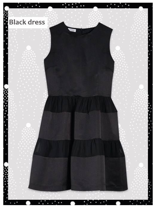 ¡Y continuamos dando ideas para los eventos de Navidad! Este vestido negro con volúmenes es una opción perfecta si buscas darle un toque personal al clásico Little Black Dress. ¡Buen fin de semana!   #Navidad #Christmas #LBD #LittleBlackDress #moda #Nubbe #NubbeClothes #eventos #madeinSpain