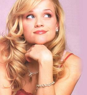 Elle Woods from Legally Blonde Played by Reese Witherspoon.