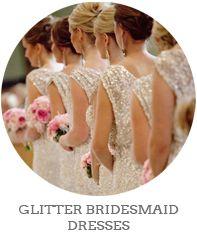 Gold, Sequin & Sparkle Bridesmaid Dresses | SouthBound Bride