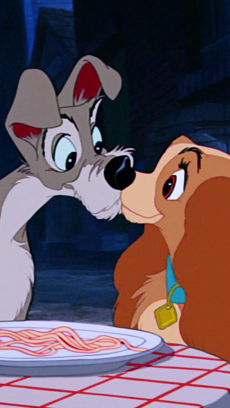 Lady and the Tramp #disney #ladyandthetramp