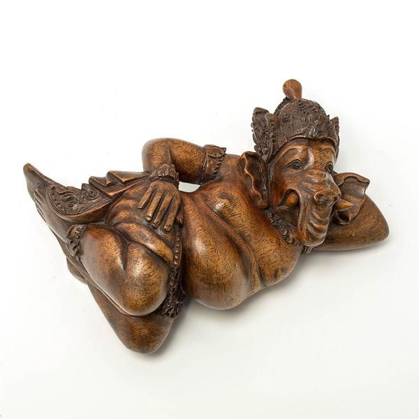 Siana Ganesha - Handcrafted, masterpiece wood sculpture from Bali. Spiritual decoration for unique places... #art #bali #balinese #handcrafted #decoration #decorativeart #dekor #elyapımı #woodart #zanaat #ganesha