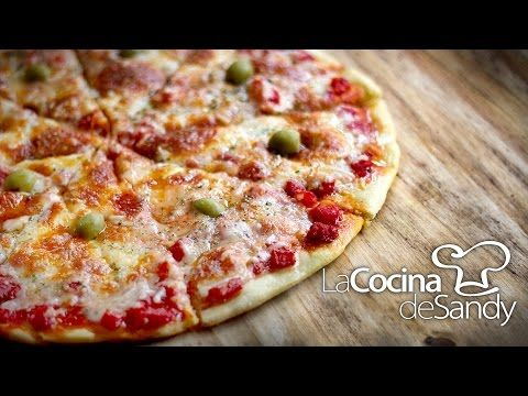 Como Hacer Masa para Pizza Italiana - YouTube