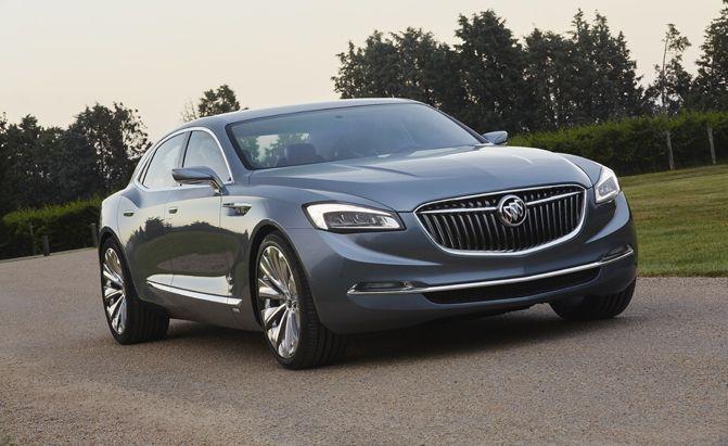 Buick Avenir Concept Makes Surprise Debut Before Detroit