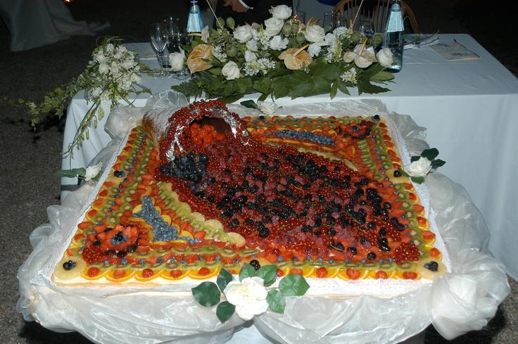 www.eleonoratonieventi.it - Torta Nuziale: Crostata di Frutta fatta ...