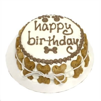 Standard Birthday Dog Cake
