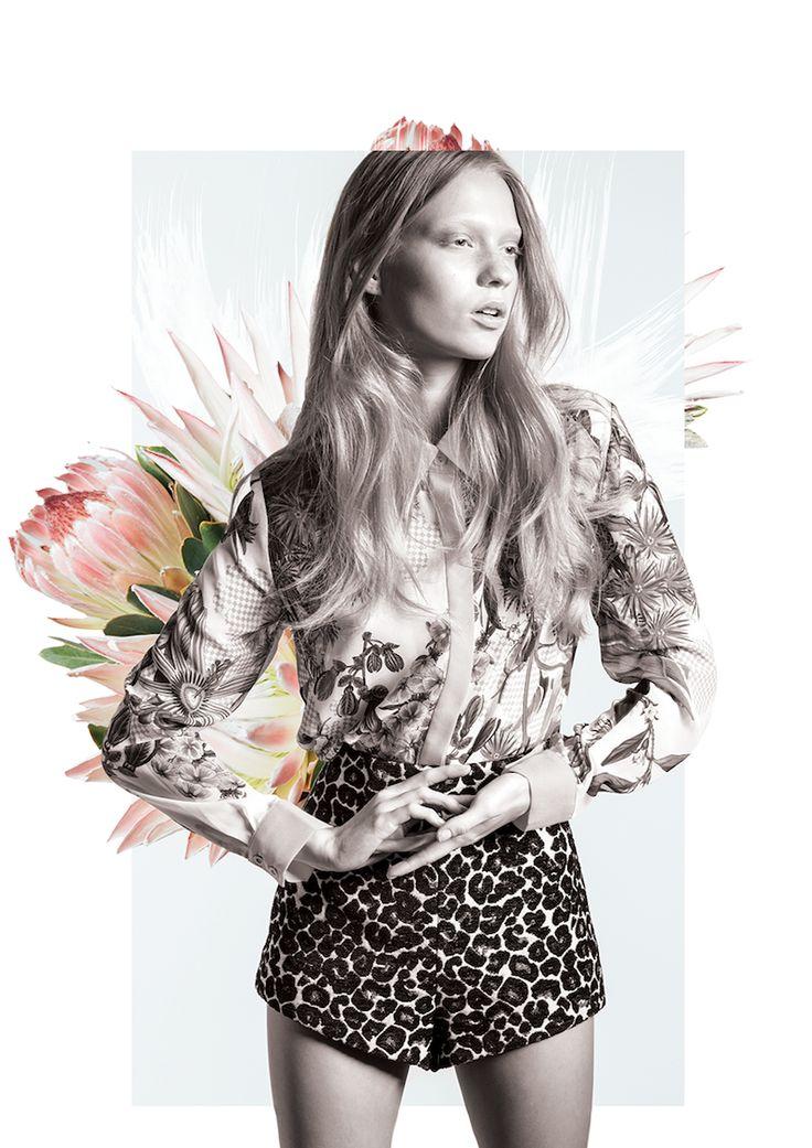 Cameo, Australian label, Grand National, floral print, Native Australian flora
