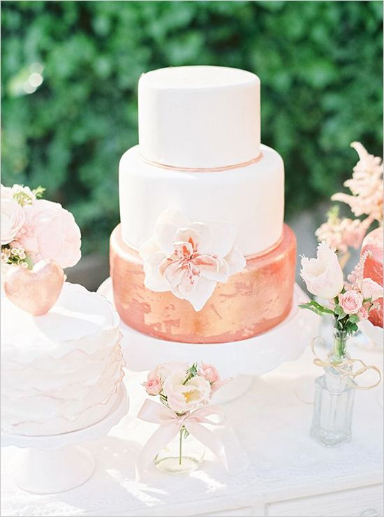 rose gold and cream wedding cake 146 best gold weddings images on bridal 19267