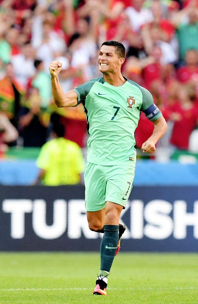 Hungary vs Portugal 2016 Cristiano Ronaldo