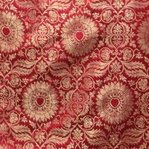 14th century, Brocade Lucca, Red