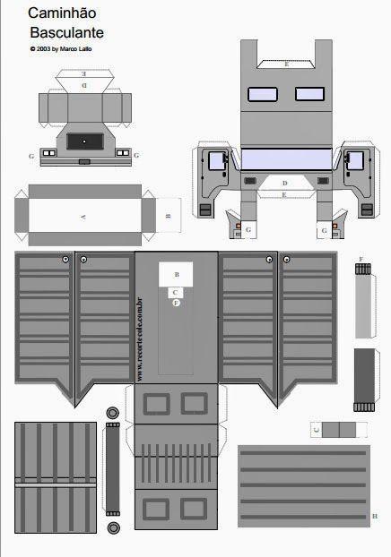 Para seu projeto ficar completo o EDUCAR X disponibiliza omolde de caminhão de lixo ou obras para ser utilizado em sua maquete do seu traba...