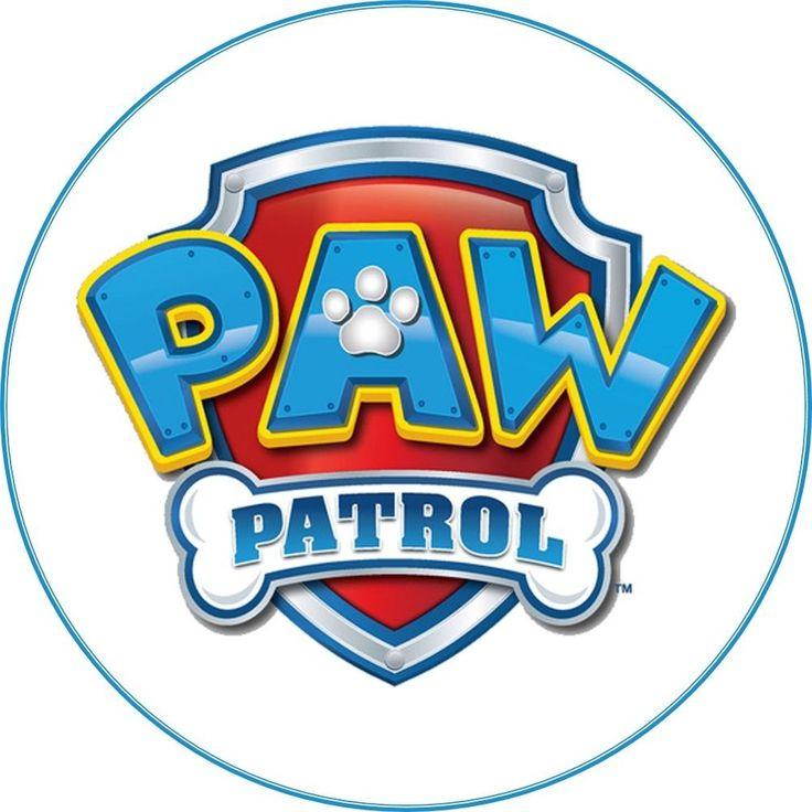 Paw Patrol 7.5 inch Edible Icing Cake Topper (NO NAME)