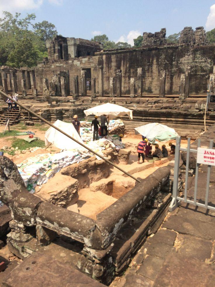 Dig at Angkor Thom