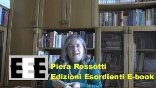 Piera Rossotti - YouTube La realtà in narrativa Video di scrittura creativa di Piera Rossotti