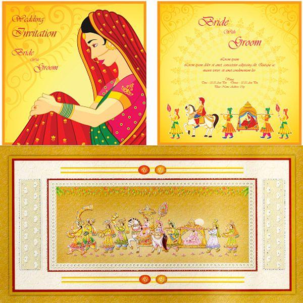 Best 25 Wedding cards online ideas – Online Marriage Invitation Card