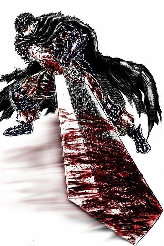 Tags: Anime, BERSERK (Kentaro Miura), Guts, Huge Weapon, Muscles, The Dragonslayer