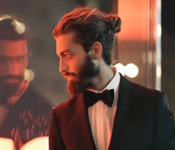 Men S Long Hairstyles Wedding: Man Buns - Men Long Hair Style Bun