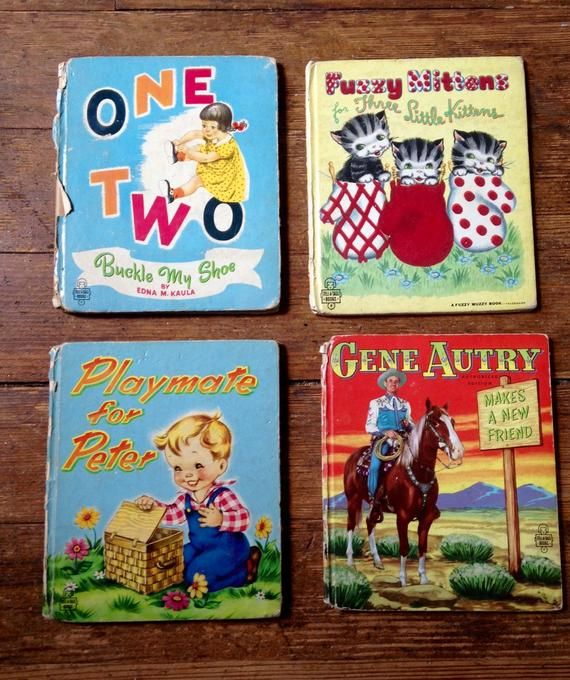 1950 S Tell A Tale Children S Books One Two Buckle My