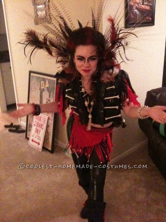 very very cool. i like seeing the switched gender role costumes.  Homemade Female Rufio Costume ...This website is the Pinterest of costumes