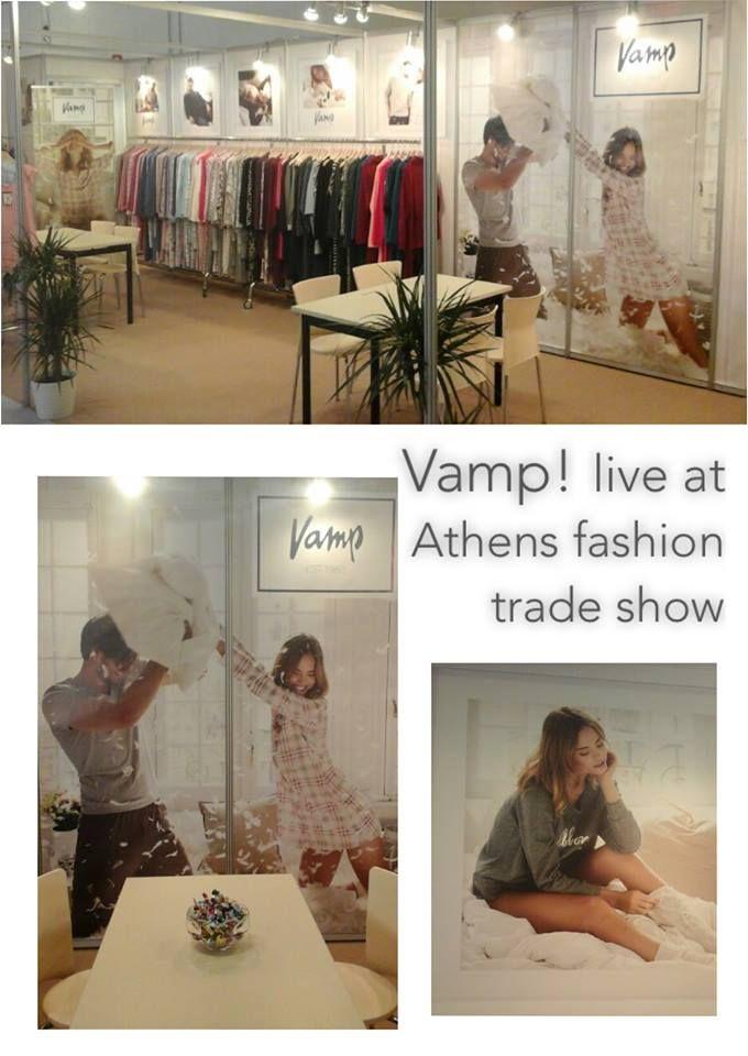 Είμαστε κατενθουσιασμένοι που βρισκόμαστε εδώ!  Live at Athens Fashion Trade Show 29/1-1/2.2016, Metropolitan Expo!!! Θα μας βρείτε στο Hall 2!