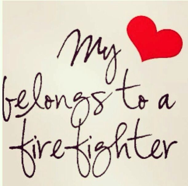 My heart belongs to a firefighter... I love this font!!