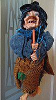 Баба-яга декоративная высота 30 см Подробнее: https://top-podarok.com.ua/p47394795-baba-yaga-dekorativnaya.html