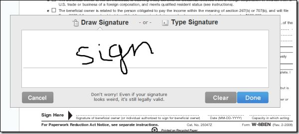 create electronic or digital signature with signnow 5