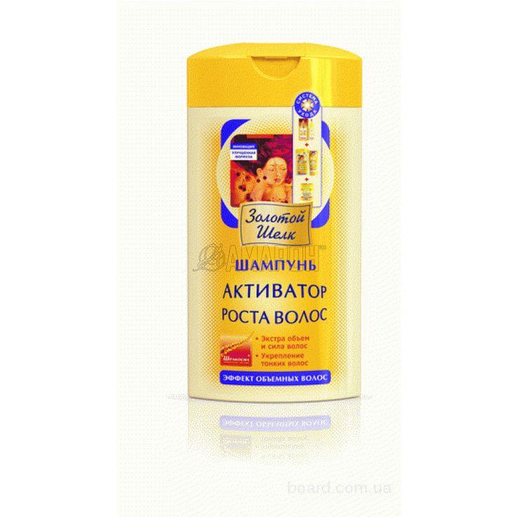 Золотой Шелк шампунь против выпадения волос, 400 мл