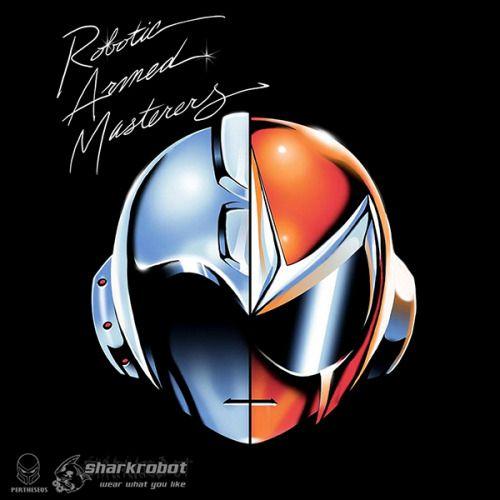 Mega Man Daft Punk Album Cover - Luis Santiago