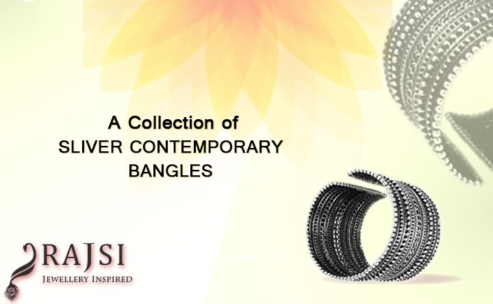 Buy silver bangles online for women and give elegance and style for your looks. This ornament match with the most different occasions from parties to office. https://goo.gl/7OXv0H