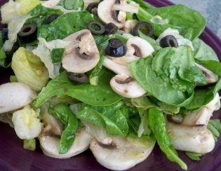 Σαλάτα με μανιτάρια πλευρότους και σπαράγγια - gourmed.gr