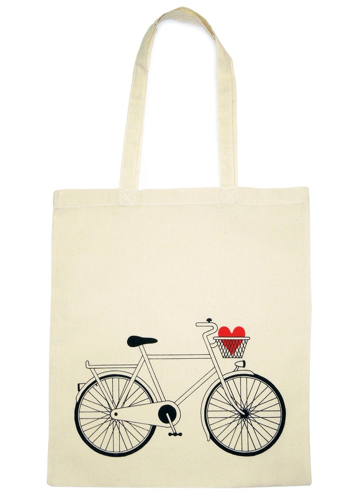 Love Cycling by Robbie Porter – exclusive to http://www.totesamazed.co.uk £12