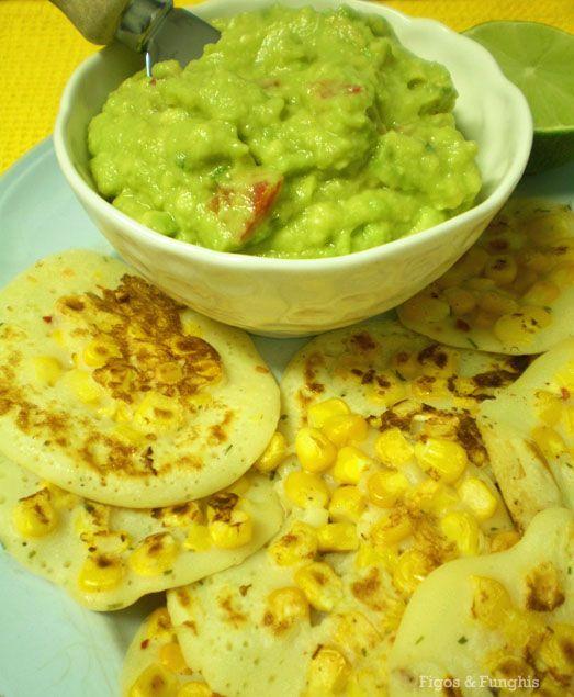 Panquequinha de milho | Blog Figos & Funghis
