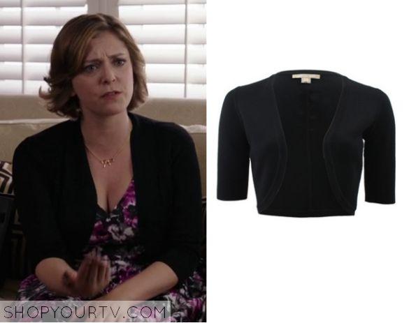 Crazy Ex Girlfriend: Season 1 Episode 7 Rebecca's Black Cropped Cardigan
