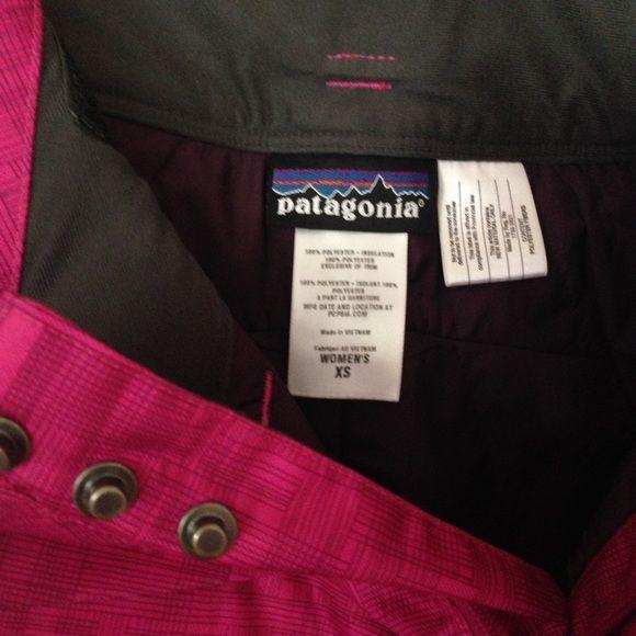 Additional photos of Patagonia Ski Pants Additional photos of the Patagonia Ski Pants , please look at original listing for more details Patagonia Pants